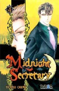 Portada de Midnight Secretary Nº 4