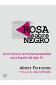 Portada de Rosa Sobre Negro