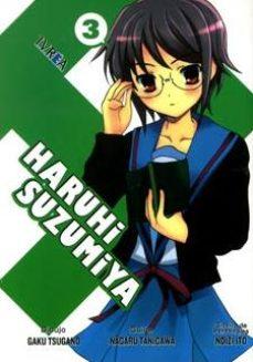 Portada de Haruhi Suzumiya Nº 3