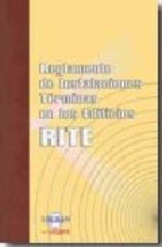 Portada de Reglamento De Instalaciones Termicas En Los Edificios
