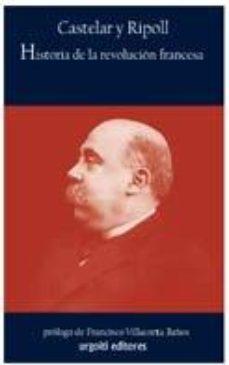 Portada de Historia De La Revolucion Francesa