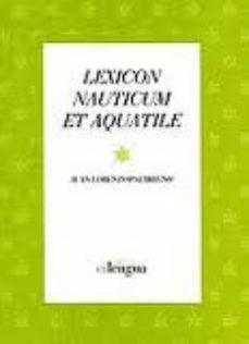 Portada de Lexicon Nauticum Et Aquatile