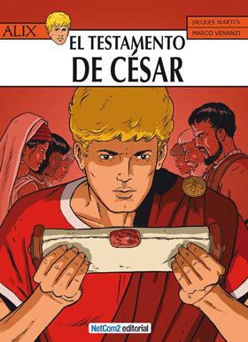Portada de Alix Nº 29: El Testamento Del Cesar