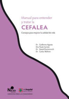 Portada de Manual Para Entender Y Tratar La Cefalea