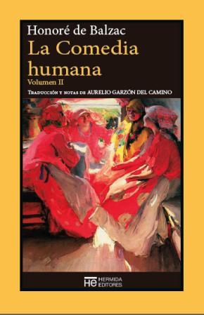 Portada de La Comedia Humana. Volumen Ii