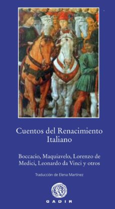 Portada de Cuentos Del Renacimiento Italiano