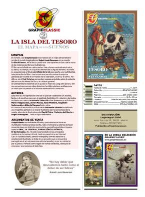Portada de La Isla Del Tesoro: El Mapa De Los Sueños ((graphiclassic 2)