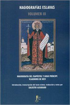 Portada de Hagiografia Del Isapostol Y Gran Principe Vladimiro De Kiev