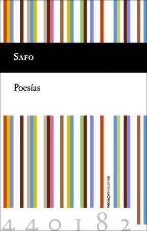 Portada de Safo Poesias
