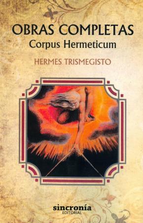 Portada de Obras Completas. Corpus Hermeticum
