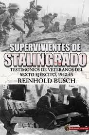 Portada de Supervivientes De Stalingrado