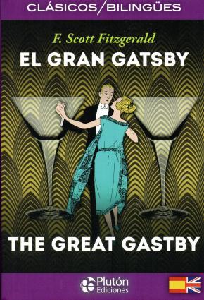 Portada de El Gran Gatsby / The Great Gatsby (ed. Bilingue Español – Ingles)