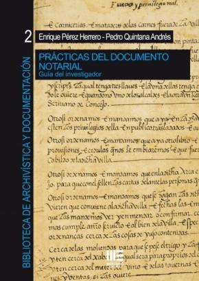 Portada de Practicas Del Documento Notarial: Guia Del Investigador