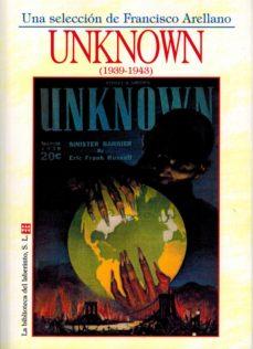 Portada de Unknown (1939-1943)