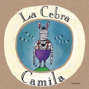 Portada de La Cebra Camila