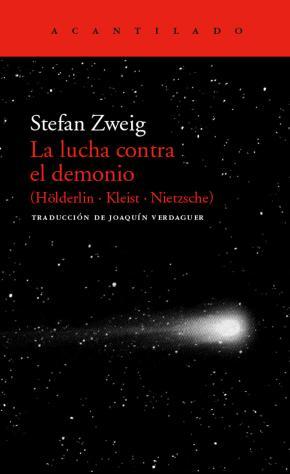 Portada de La Lucha Contra El Demonio: (holderlin, Kleist, Nietzsche)