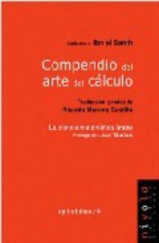 Portada de Compendio Del Arte Del Calculo: La Ciencia Matematica Arabe