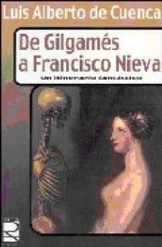 Portada de De Gilgames A Francisco Nieva: Un Itinerario Fantastico