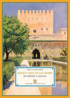 Portada de Poesia Y Arte De Los Arabes En España Y Sicilia