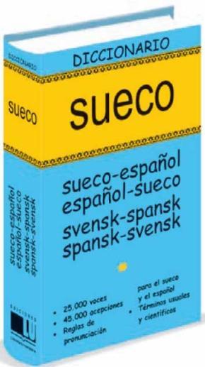 Portada de Diccionario Sueco (sueco-español/español-sueco Svensk-spansk/span Sk-svensk)