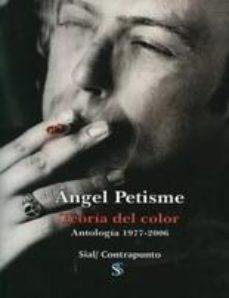 Portada de Teoria Del Color. Antologia 1977-2006