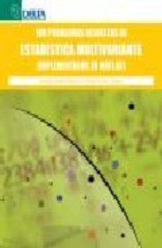 Portada de 100 Problemas Resueltos De Estadistica Multivariante (implementad Os En Matlab)