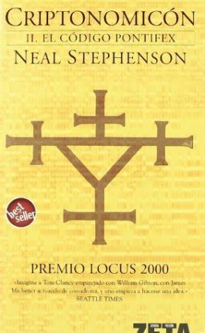 Portada de Criptonomicon (ii): El Codigo Pontiex (premio Locus 2000)