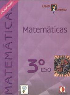 Portada de Matematicas 3º Eso: Repasa Y Aprueba ((solucionario. Libro Del Pr Ofesor)