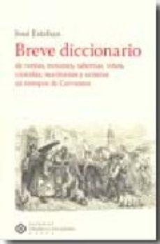 Portada de Breve Diccionario De Ventas, Mesones, Tabernas