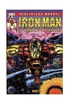 Portada de Biblioteca Marvel Iron Man Nº 18
