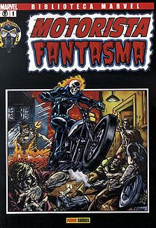 Portada de Biblioteca Marvel : Motorista Fantasma Nº1