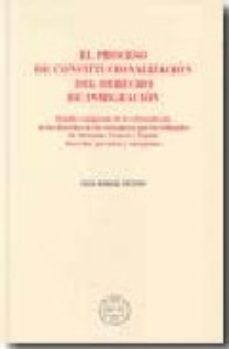 Portada de Proceso De Constitucionalizacion Del Derecho De Inmigracion