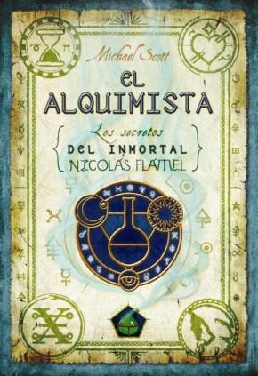 Portada de El Alquimista I: Los Secretos Del Inmortal Nicolas Flamel