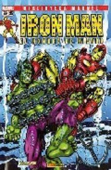Portada de Biblioteca Marvel Iron Man Nº25