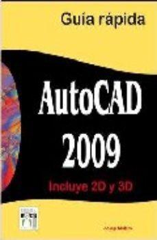 Portada de Autocad 2009: Guia Rapida