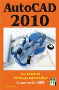 Portada de Autocad 2010 Curso Avanzado
