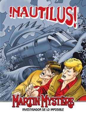 Portada de Martin Mystere: ¡nautilus!