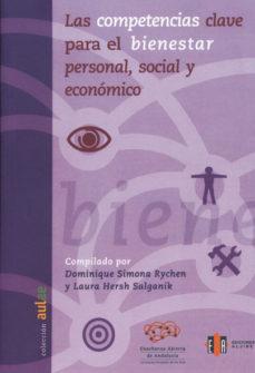 Portada de Las Competencias Clave Para El Bienestar Personal, Social Y Econo Mico