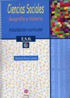 Portada de Ciencias Sociales 1º Eso Adaptacion Curricul