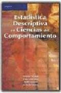 Portada de Estadistica Descriptiva En Ciencias Del Comportamiento