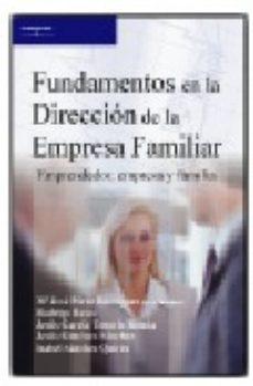 Portada de Fundamentos En La Direccion De La Empresa Familiar