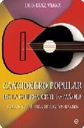Portada de Cancionero Popular De La Guerra Civil Española