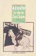 Portada de La Ruta De Don Quijote