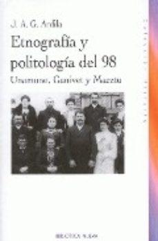 Portada de Etnografia Y Politologia Del 98