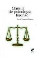 Portada de Manual De Psicologia Forense