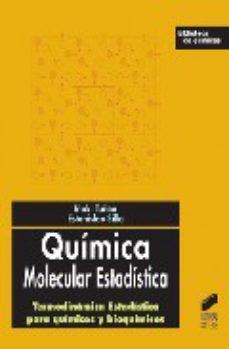 Portada de Quimica Molecular Estadistica