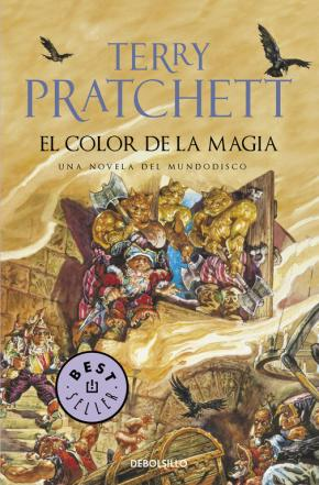 Portada de El Color De La Magia (Mundodisco 1 / Rincewind 1)