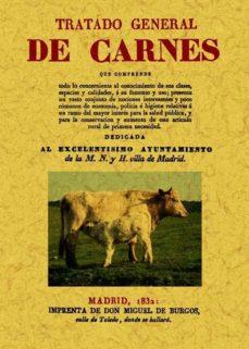 Portada de Tratado General De Carnes (ed. Facsimil)