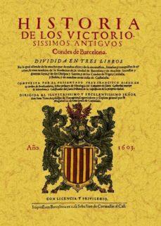 Portada de Historia De Los Victoriosissimos Condes De Barcelona (facsimil)