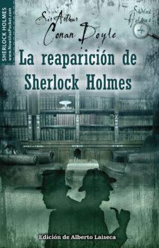 Portada de La Reaparicion De Sherlock Holmes
